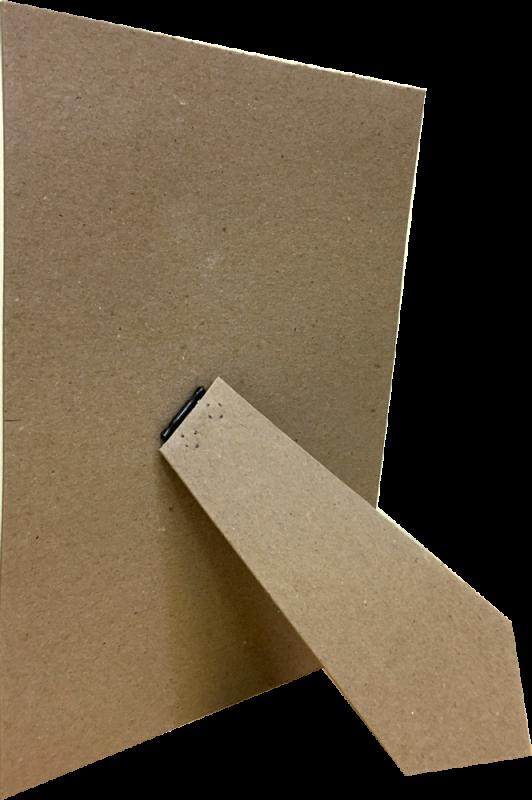 Задник с ножкой (серый картон)